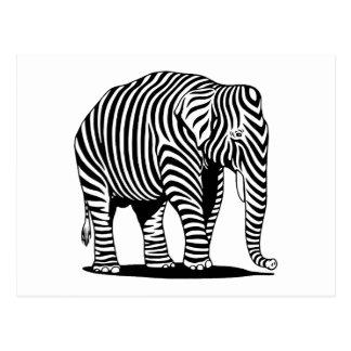 Elebra Zephant Postcard
