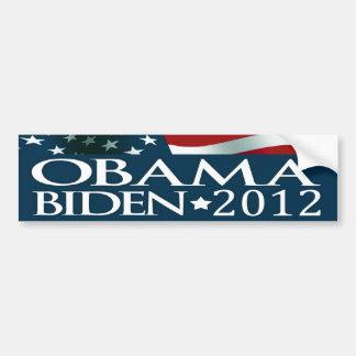 Elección 2012 de Barack Obama Joe Biden Pegatina De Parachoque
