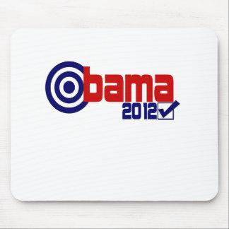 Elección 2012 de Obama Alfombrilla De Ratón