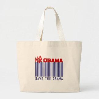 Elección 2012 de Obama Bolsa Tela Grande