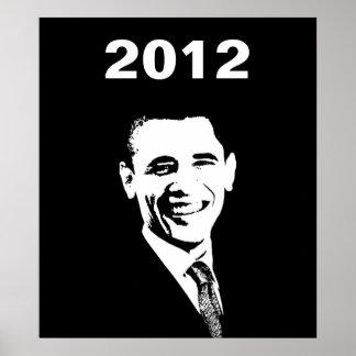 Elección 2012 de Obama Póster