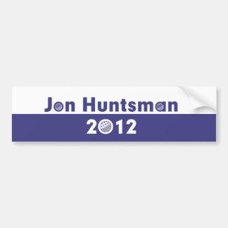 Elección 2012 del Huntsman de Jon Pegatina Para Auto
