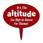 Elección 2012 Obama anti es la altitud Decoraciones De Tartas