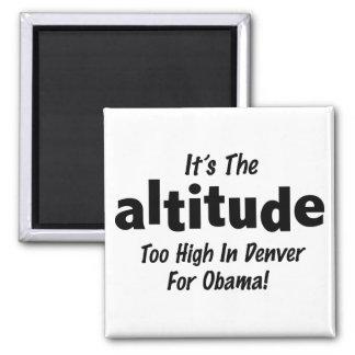 Elección 2012 Obama anti es la altitud Imán Cuadrado