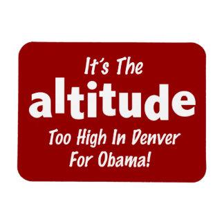 Elección 2012 Obama anti es la altitud Imanes Flexibles