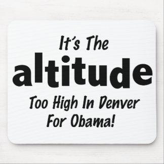Elección 2012 Obama anti es la altitud Mousepads