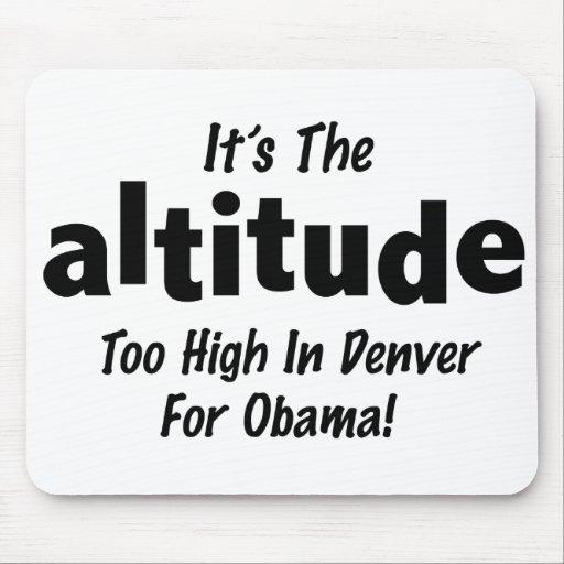 Elección 2012 Obama anti es la altitud Tapetes De Raton