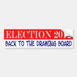 Elección 2012 pegatina de parachoque