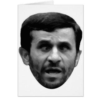 Elección adaptable de Mahmud Ahmadineyad Irán Tarjeta De Felicitación