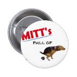 Elección anti 2012 de Mitt Romney Pin