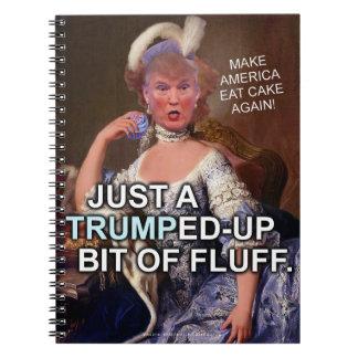 Elección anti 2016 de Donald Trump Marie Antonieta Libros De Apuntes Con Espiral