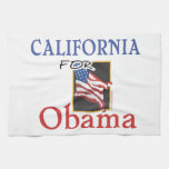 Elección California para Obama Toallas De Mano