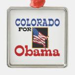 Elección Colorado para Obama Adornos