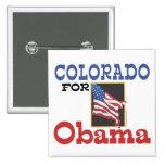 Elección Colorado para Obama Pins