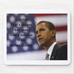 Elección de Barack Obama Tapetes De Ratón