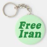 Elección de Irán Llavero Personalizado