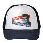Elección de JFK Kennedy Gorros Bordados
