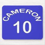 Elección del Reino Unido del ~ del número 10 del ~ Alfombrilla De Ratones