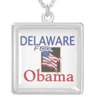 Elección Delaware para Obama Colgante Cuadrado