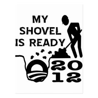 Elección lista 2012 de la pala de Obama del Postales