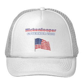 Elección patriótica 2010 de la bandera americana d gorros bordados