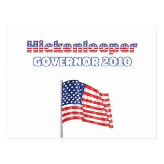 Elección patriótica 2010 de la bandera americana tarjetas postales