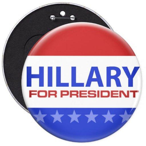 elección política - Hillary Clinton Pin