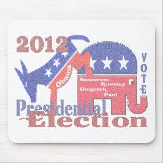 Elección presidencial 2012 alfombrilla de ratones