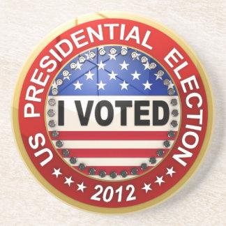 Elección presidencial 2012 que voté posavasos manualidades