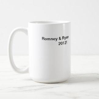Elección presidencial 2012 taza básica blanca