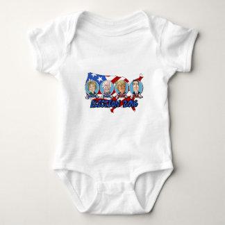 Elección presidencial 2016 body para bebé