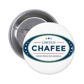 Elección presidencial 2016 de Lincoln Chafee Pin Redondo De 2 Pulgadas