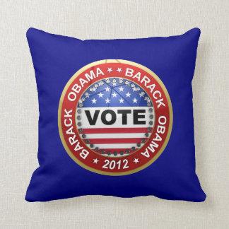 Elección presidencial Barack Obama 2012 Cojines