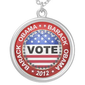 Elección presidencial Barack Obama 2012 Colgante Redondo