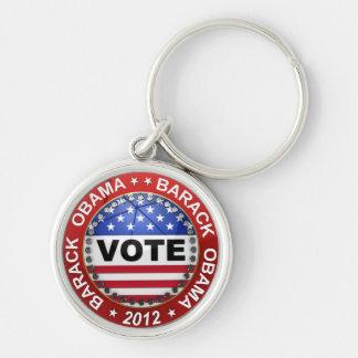 Elección presidencial Barack Obama 2012 Llaveros Personalizados