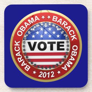 Elección presidencial Barack Obama 2012 Posavasos De Bebidas