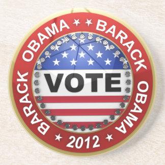 Elección presidencial Barack Obama 2012 Posavasos Manualidades
