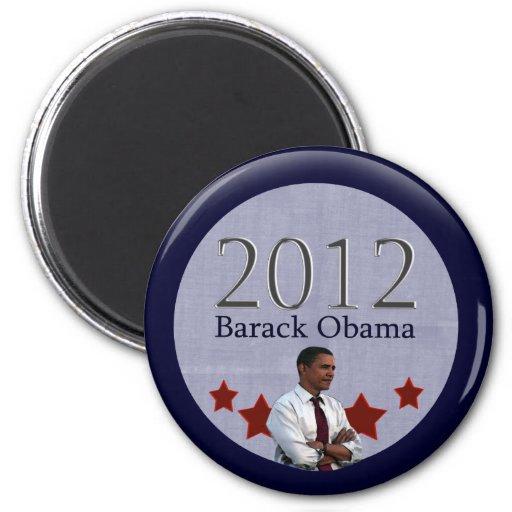 Elección presidencial de Barack Obama 2012 Imán De Frigorífico