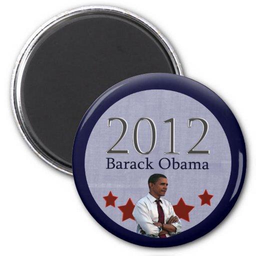 Elección presidencial de Barack Obama 2012 Imanes De Nevera