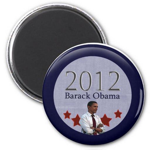 Elección presidencial de Barack Obama 2012 Iman Para Frigorífico