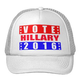 Elección presidencial de Hillary 2016 del voto Gorro De Camionero
