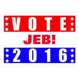 Elección presidencial de Jeb 2016 del voto Postal