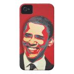 Elección presidencial de Obama iPhone 4 Case-Mate Coberturas