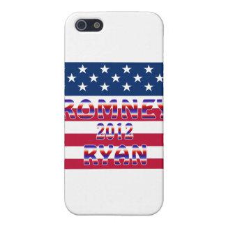 Elección presidencial de Romney Ryan 2012 iPhone 5 Carcasas
