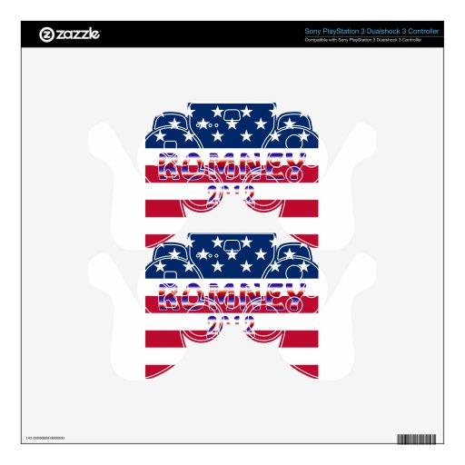Elección presidencial de Romney Ryan 2012 Skins Para Mando PS3