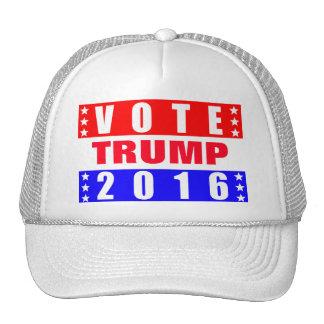 Elección presidencial del triunfo 2016 del voto gorro de camionero