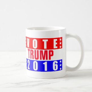 Elección presidencial del triunfo 2016 del voto taza clásica