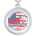 Elección presidencial divertida de Demócrata Pendientes