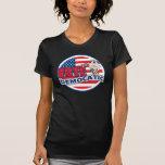 Elección presidencial divertida de Demócrata Camiseta
