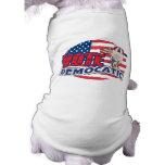 Elección presidencial divertida de Demócrata Camisa De Mascota